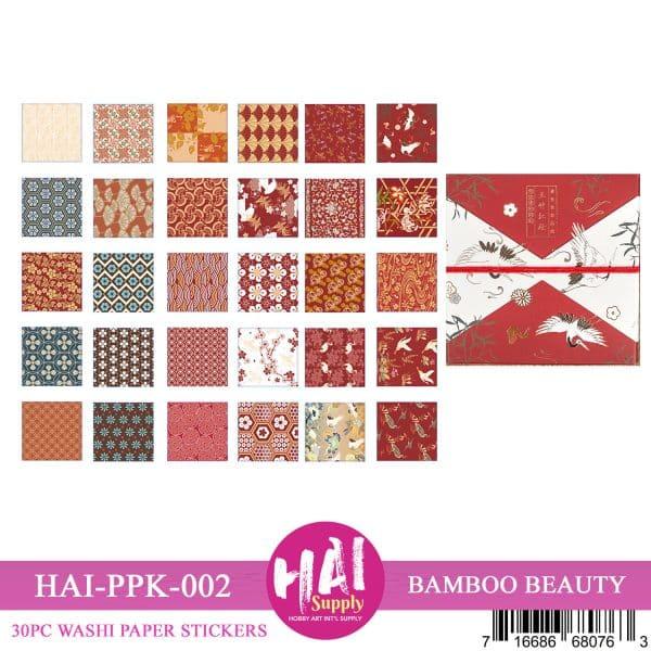 BAMBOO BEAUTY RED BOX