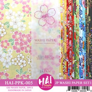 JAPANESE WASHI PAPER SET