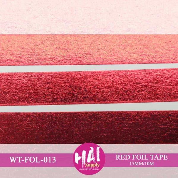 RED FOIL TAPE