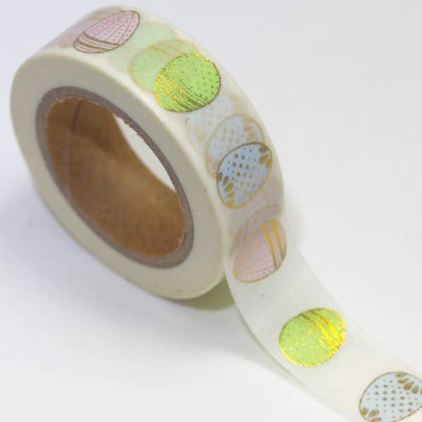 WASHI TAPE CIRCLE DESIGN