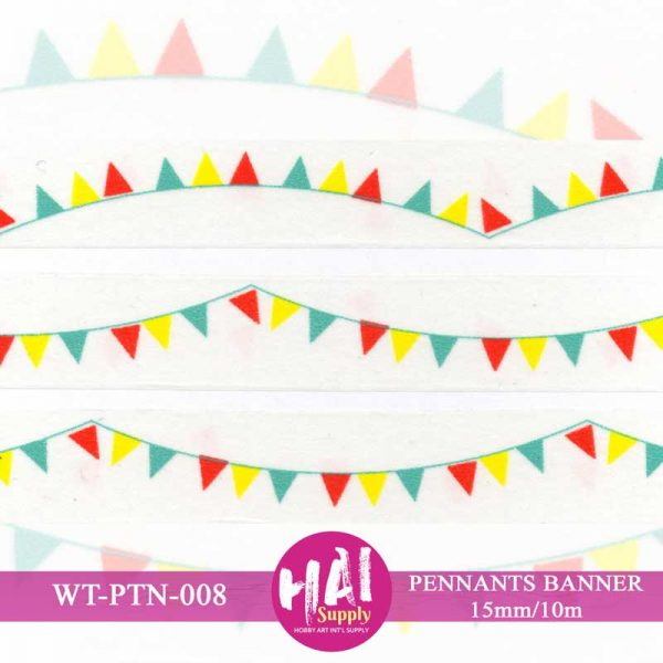 PENNANTS BANNER WASHI TAPE