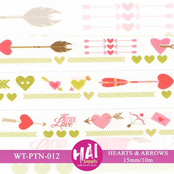 HEARTS AND ARROWS WASHI TAPE