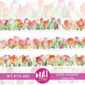 Washi Tape rose Garden