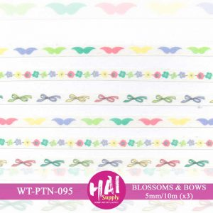 WASHI TAPE BLOSSOMS BOWS