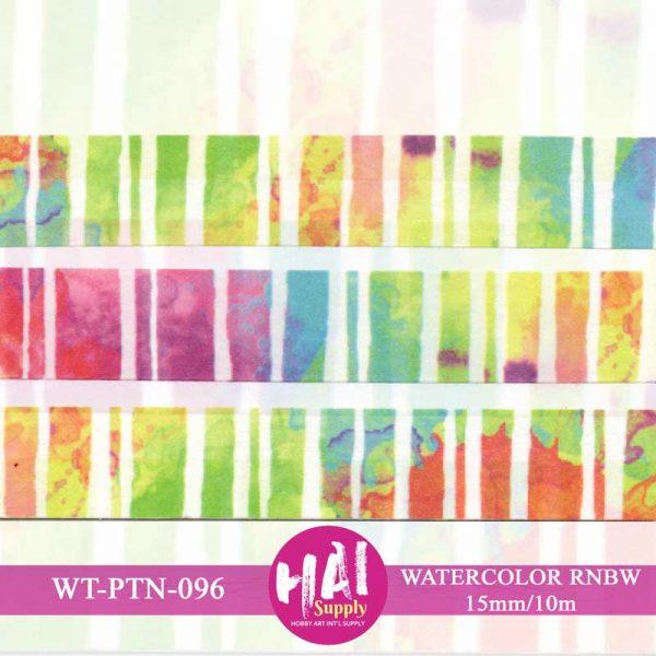 Watercolor Rainbow Washi tape