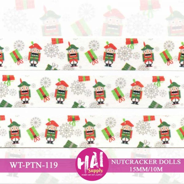 NUTCRACKER DOLLS WASHI TAPE