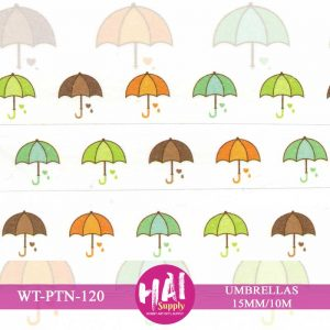 UMBRELLAS WASHI TAPE