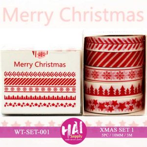XMAS SET 1 WASHI TAPE