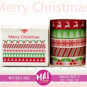 XMAS SET 2 WASHI TAPE