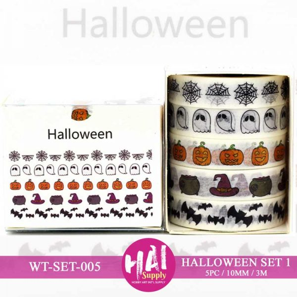 HALLOWEEN SET WASHI TAPE